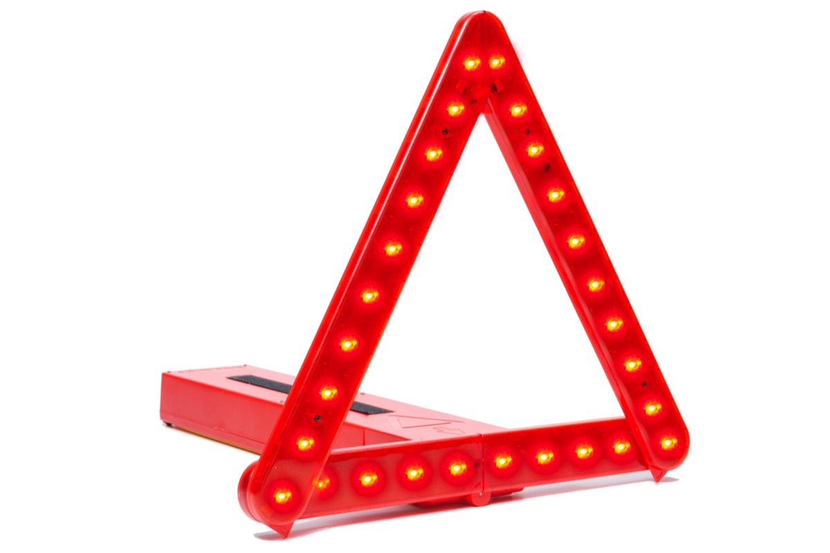 BriteAngle LED Warning Triangle